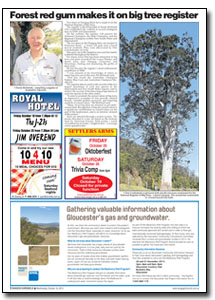 News Article : Dungog Chronicle